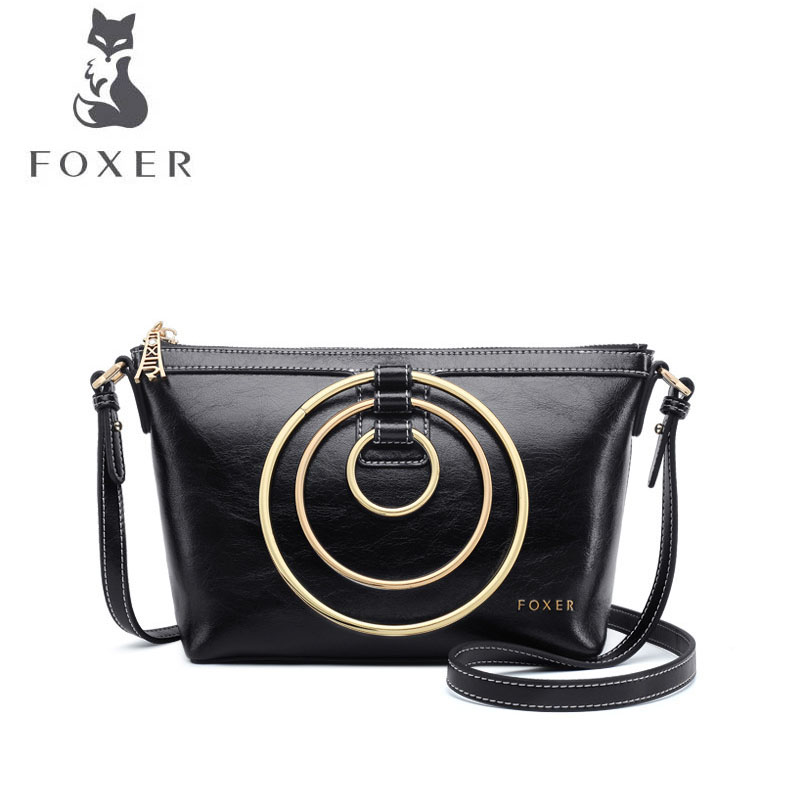 FOXER brand bags for women 2018 new women leather bag fashion handbags Cowhide designer crossbody bags for women shoulder bag 1pcs oem fog light driving lamp left side for porsche cayenne 2008 2010