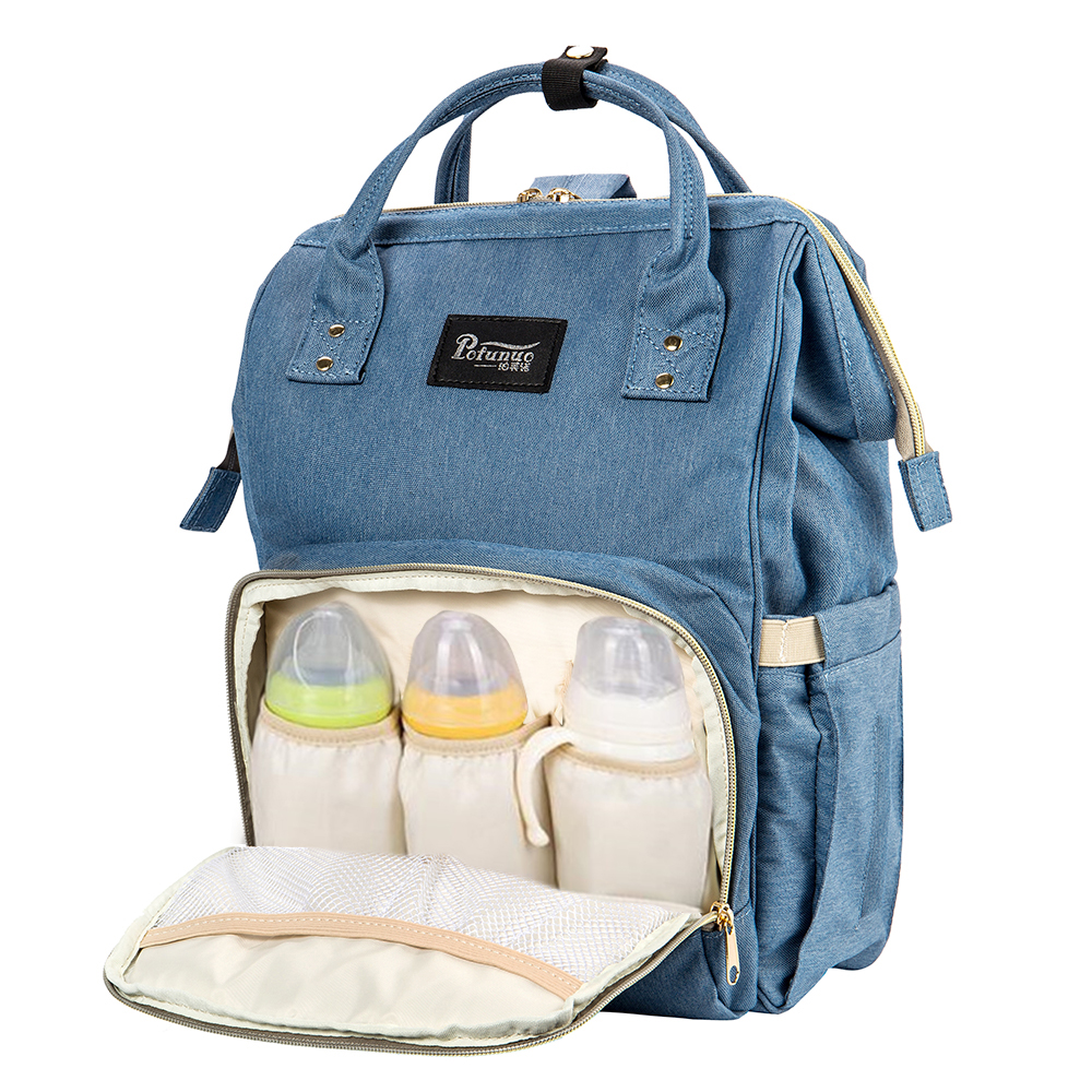 Baby Diaper women nylon Bags Maternity Travel Backpacks Large Mother wheels troller bolsa Mom with wheels For kids fashion in Backpacks from Luggage Bags
