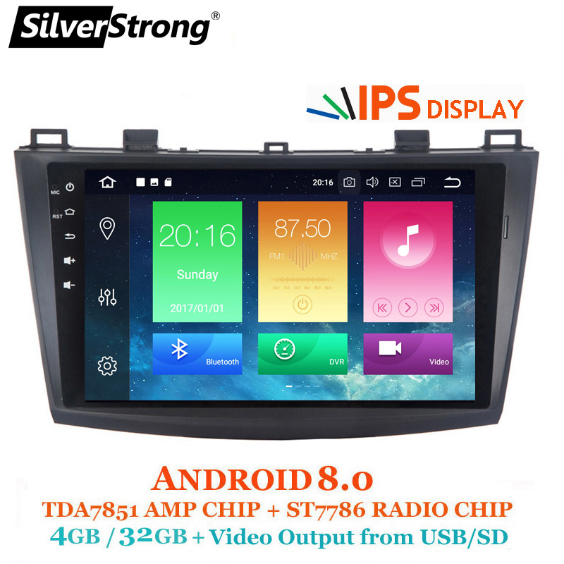 Shop For Cheap 9 Android 8.0 Car Multimedia Player For Mazda 3 Axela 2014-2016 With Octa Core 4g 32g 1024*600 Touch Screen Car Intelligent System