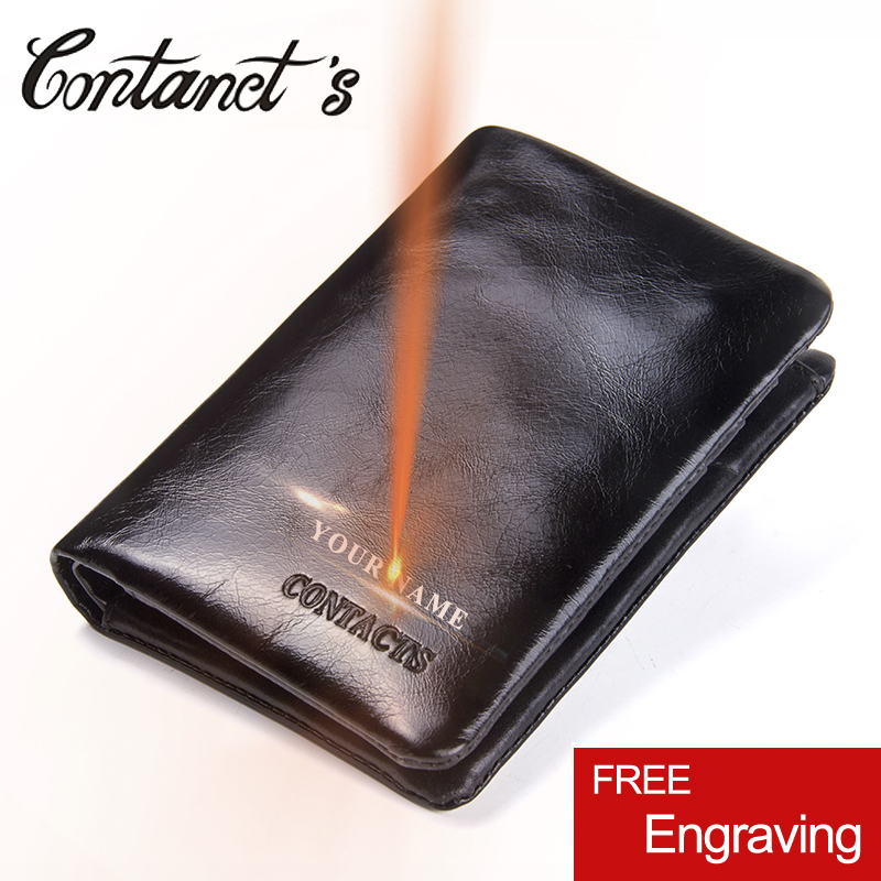 Wallet With Coin Pocket Credit Card Holder Purse For Men Genuine Leather Short Wallets Male High Quality Casual Small Money Bag williampolo men wallets male purse genuine leather wallet with coin pocket zipper short credit card holder wallets leather