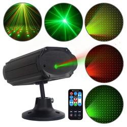 Мини красный зеленый лазерный проектор, звуковая активация, Звездный душ, DJ KTV, вечерние Dsico огни для дома, Рождества, свадьбы, светодиодный, с...