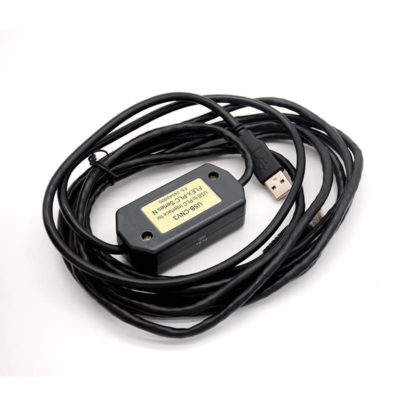 FOURSTAR Fuji N Series PLC (NB, NJ, NS, NW0, Etc.) Programming Interface Cable USB/RS422 Interface 3m
