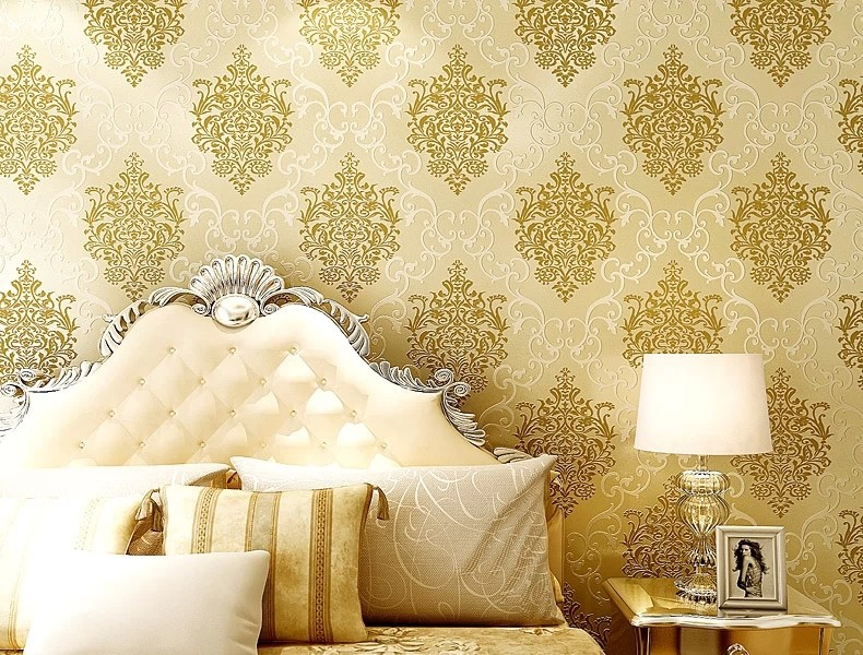 Superb Creamy White And Light Yellow Wallpaper Wall Covering Wall Paper Roll For  Livingroom Bedroom Tv Background Office In Wallpapers From Home Improvement  On ...