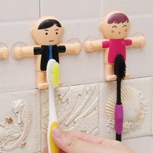 BF040 Multifuction Sucker hook Toothbrush rack 8*8*2CM Free Shipping