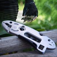 야외 서바이벌 키트 캠프 폴드 멀티 도구 나이프 수리 조정 스크루 드라이버 렌치 턱 플라이어 멀티 기능 스패너 기어