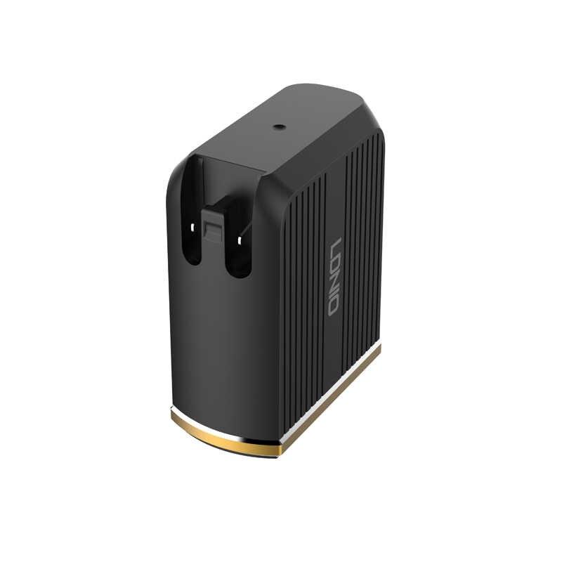 Cargador de teléfono rápido USB LDNIO 36 W compatible con QC 3,0 cargador de pared para el hogar de carga rápida con tipo C PD ranura de carga rápida para iPhone