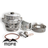 SPECIAL OFFER Aluminum Q Series 50mm BOV Turbo Blow Off Valve With Flange Adapter 10 PSI Silver