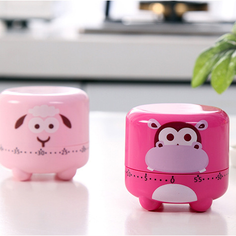 Cartoon Mechanical Kitchen Timer Alarm Clock Cooking Countdown Dial Timers Set Time Reminder  Kitchen Gadgets