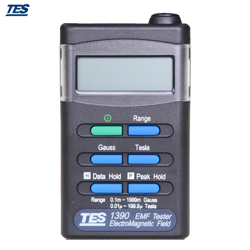 US $109 04 6% OFF  TES1390 Handheld EMF Gauss Electromagnetic Field  Meter-in Electromagnetic Radiation Detectors from Tools on Aliexpress com  