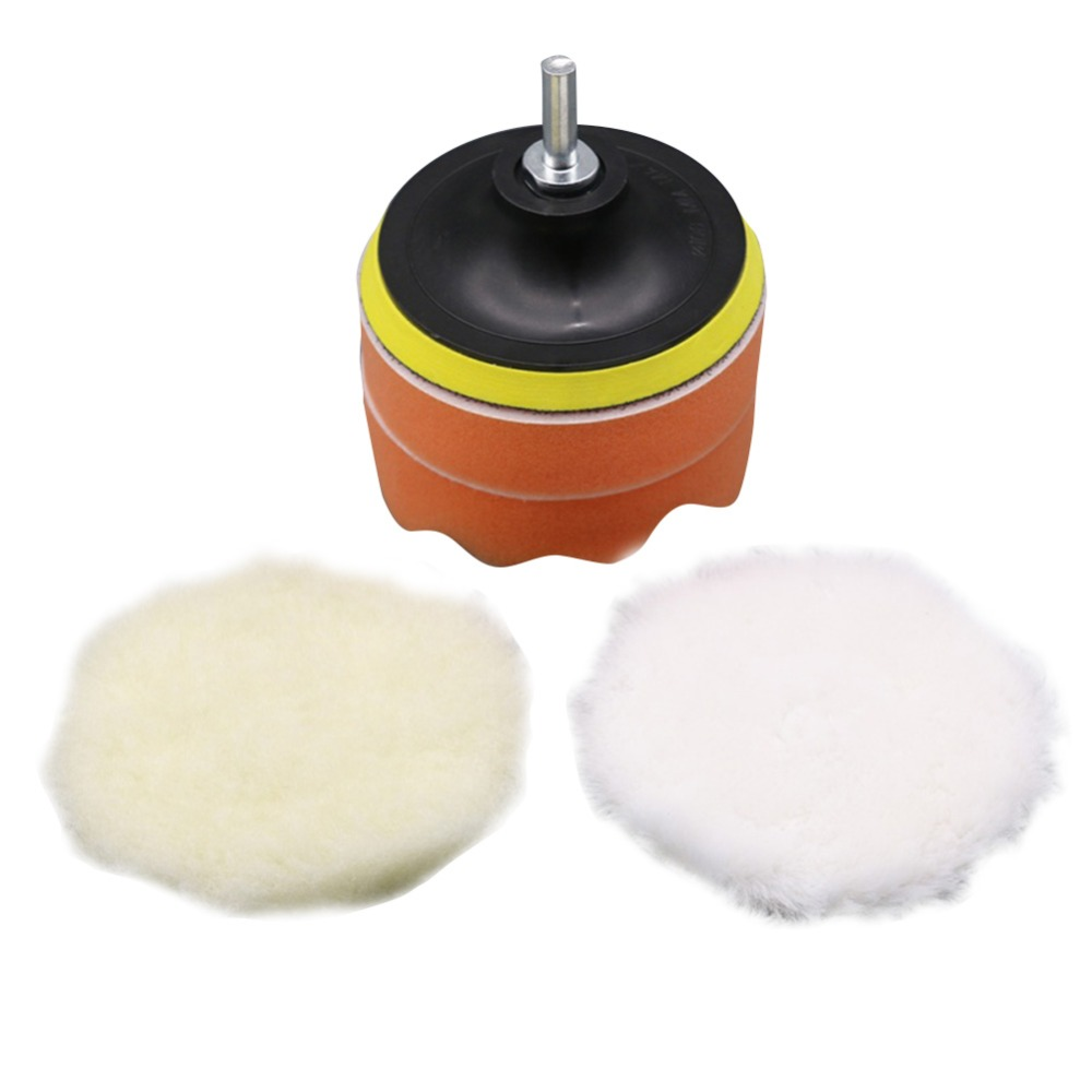 Image 5 - 5Pcs Car Accessories High Gross Polishing&Buffer Pad Set +M10 Drill Adapter For Car Polisher-in Polishing & Grinding Materials Set from Automobiles & Motorcycles