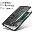 Alta qualidade auto magnetic virar capa wallet para samsung galaxy s5 caseme marca saco de couro case para samsung galaxy s6 s7 edge