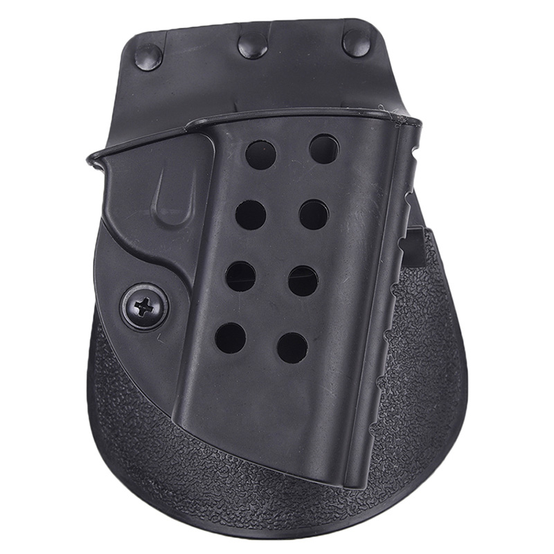 Tactical belt holster Hunting Army Quick Tactical Holster Pouch for Colt 1911 airsoft pistol adjustable quick release plastic tactical puttee thigh leg pistol holster pouch for usp45 black page 6