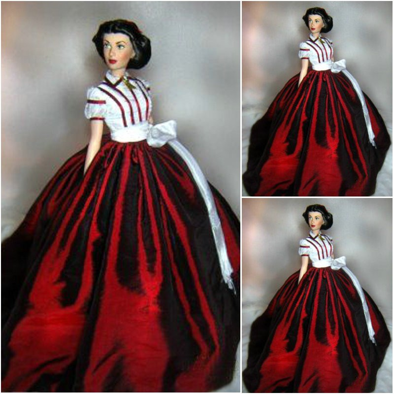 1971S Renaissance Dress Dress  Civil War Costume Victorian Evening Gown Gown Pleated