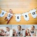 Números de Bebês infantis Bodysuits Algodão Crianças Recém-nascidas Do Bebê Das Meninas Dos Meninos Letras Impressas Bodysuit Macacão Roupas Roupas Gêmeos