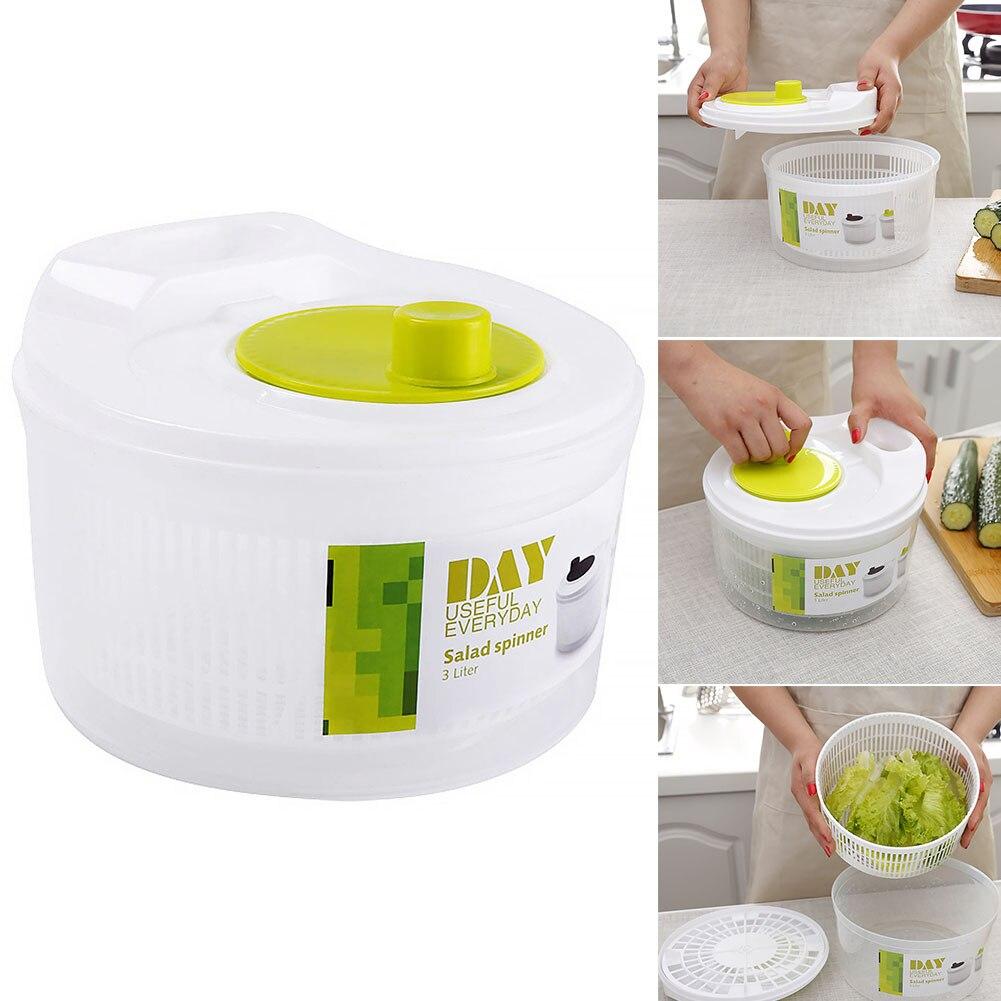 Salad Spinner grandes feuilles d/'eau sèche-linge laitue huile dressing EGOUTOIR Vidange Bowl