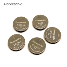 100PCS/LOT New Genuine Panasonic Car remote key CR2354 3V Li-ion battery CR 2354 button instrument and meter batteries