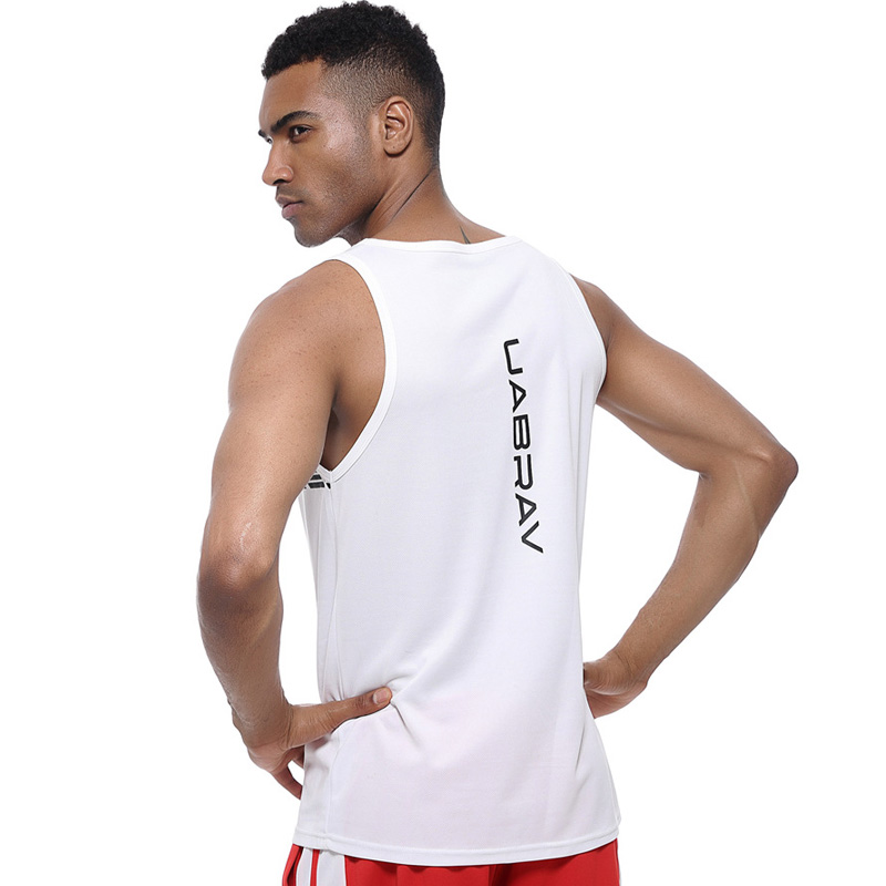 Sports Clothing Quick Dry Sports Fitness Running Tank Tops Men Summer Vest Fitness Sleeveless Undershirts Male Gym Loose Sport Vest Bodybuilding