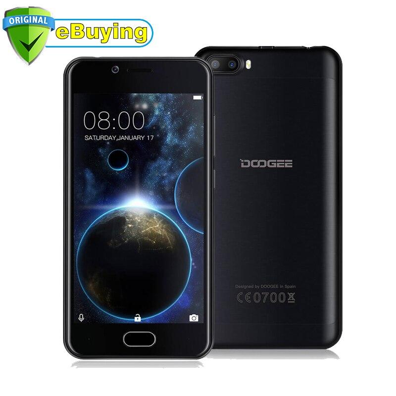 bilder für Ursprüngliche Doogee Schießen 2 Smartphone Android 7.0 MT6580A Quad Core Handy 2 GB RAM 16 GB ROM Dual zurück kamera Cell telefon