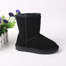 Fashion Winter Children Boots Classic Kids Snow Boots Girls Fur Boots Kids Boys Warm Fur Shoes Genuine Leather Australia Boots