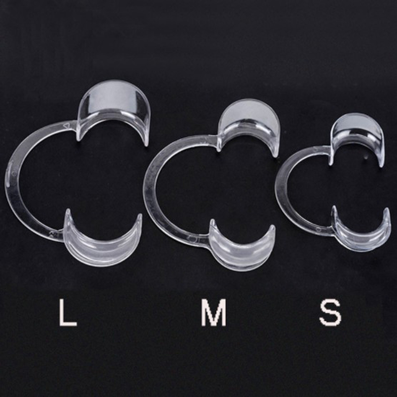 10pcs /5 Pcs Professional C-Type Dental Cheek Retractors Lip Mouth Opener Teeth Whitening Retractor Orthodontics Tool S/M/L