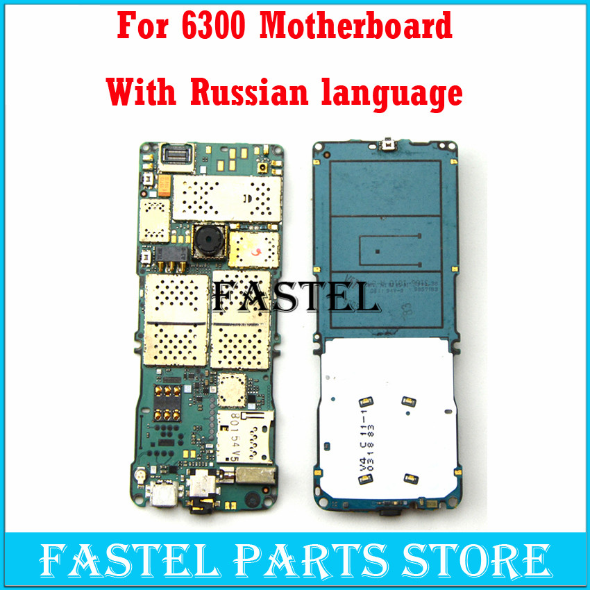 For <font><b>Nokia</b></font> <font><b>6300</b></font> Motherboard replace Mobile <font><b>Phone</b></font> Motherboard + With russian language With Free Tools, Free Shipping image