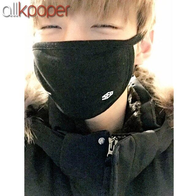 ALLKPOPER Kpop SF9 Feeling Sensation Mouth Mask Muffle Unisex Face Respirator DAWON ZUHO 1