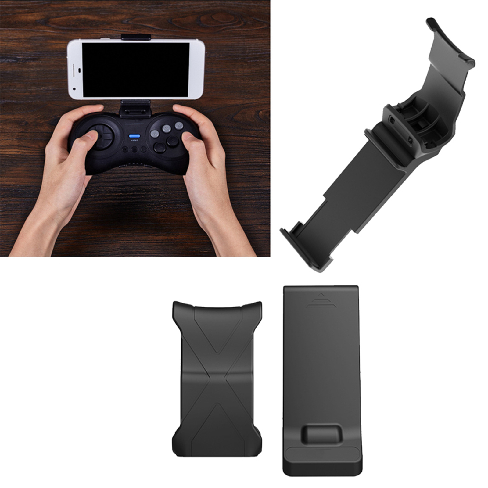 For 8Bitdo Gamepad Stand Holder For M30 8Bitdo Sega Controller Gamepad Phone Clip Mount Bracket Holder