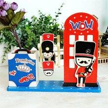 Diy Clockwork Type Music boxes Cartons Doll Music box Modern Design pen case musical Box Birthday Gift kids Craft carrossel