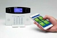 APP Remote Control Wireless Intercom GSM Alarm Panel Russian/Spanish/English Optional