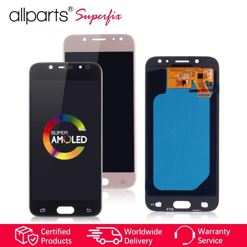 Super AMOLED LCD pour samsung Galaxy J5 2017 écran LCD numériseur à écran tactile Pour Galaxy J5 2017 Affichage J530 LCD