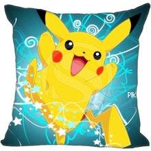 New Pikachu Pokemon Pillowcase Cartoon Custom Throw Pillow Case