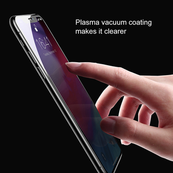 Baseus 0.2mm Protective Glass For iPhone Xs Xs Max XR 2018 Screen Protector Thin Full Coverage Tempered Glass Film For iPhone Xs 2