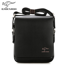Badenroo 2018 Brand Leather Male bag Men Business Messenger Bags Briefcase Hot Sale Casual Crossbody Small Shoulder Bags For Man