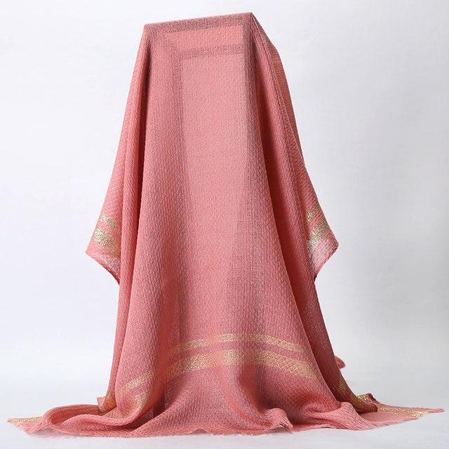 Chales de estilo nacional de la India bufandas de Color sólido bufanda de las mujeres púrpura largo 75x200 cm de lana para mujer pashmina Echarpes