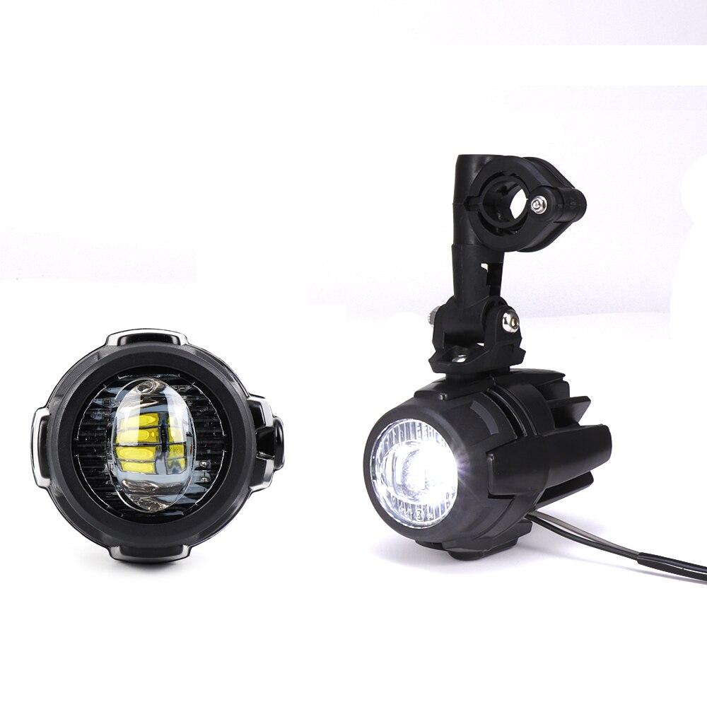 Feux de brouillard de moto pour BMW R1200GS ADV F800GS F700GS F650GS K1600 LED feu de brouillard auxiliaire assembler lampe de conduite 40W - 3