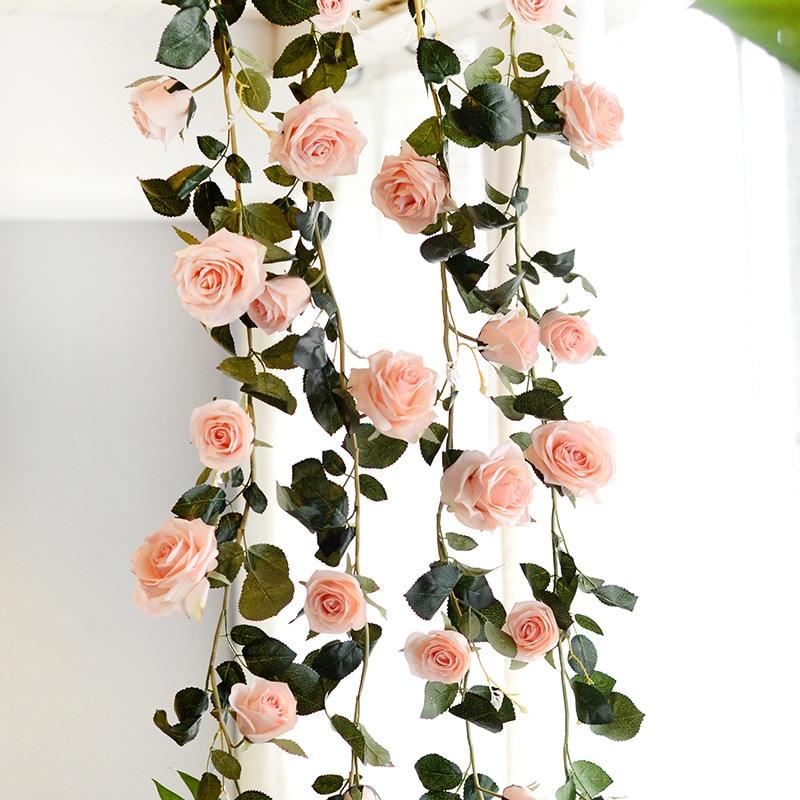 8inch 20cm Mint Green Wedding Decorations Artificial Rose Silk Flower Ball Centerpieces Decorative