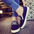GTIME Summer Autumn 2017 Women Fashion Slip On Woman Flat Casual Shoe Canvas Leisure Espadrilles Slipony Student Shoes #ZWS64