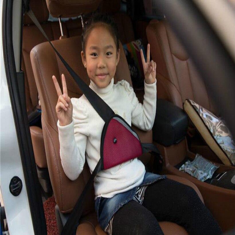 red blue yellow safty child car seat belt kids adult seat belt ...