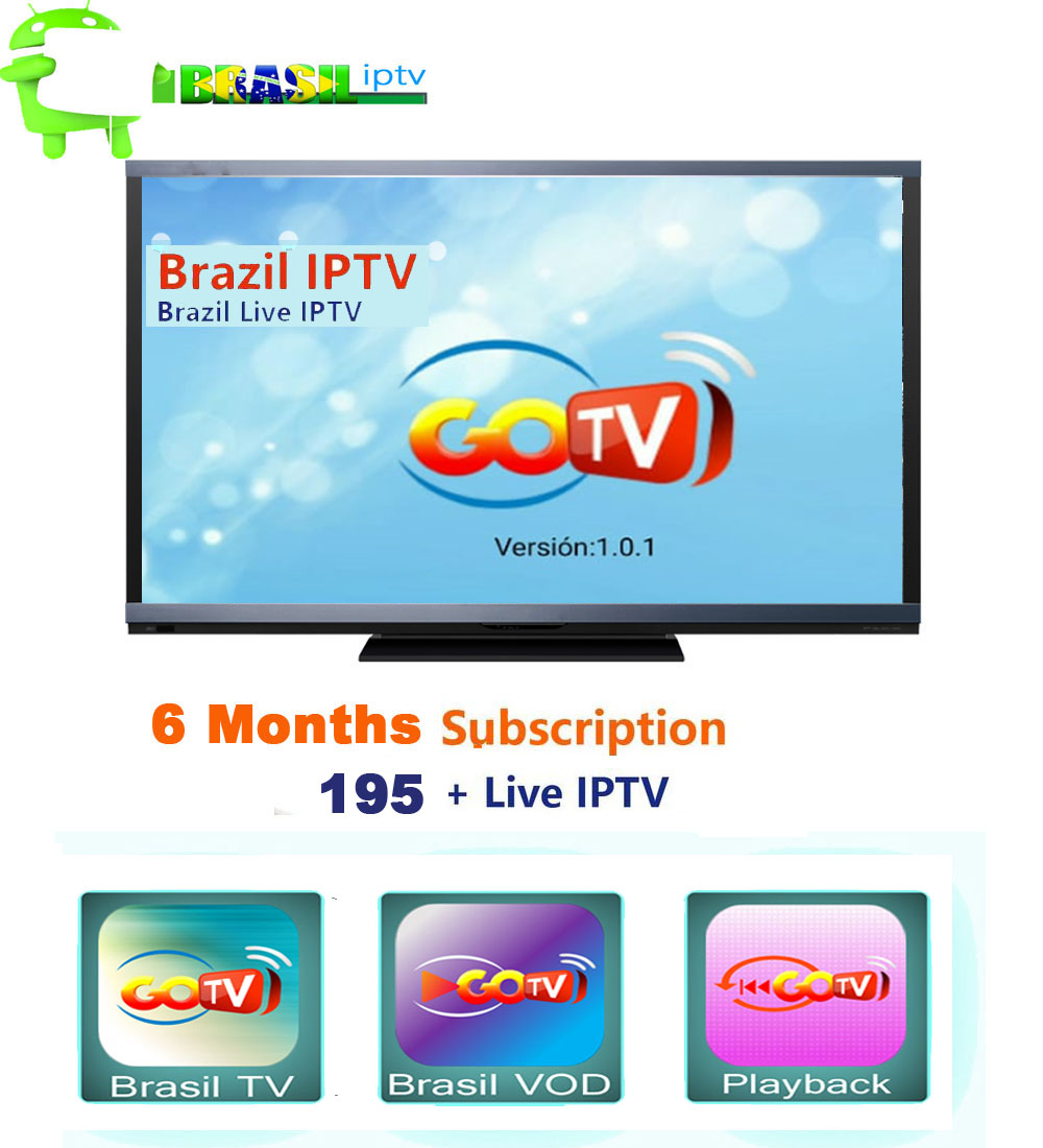 6 Months Brazil 4K Hd IPTV APK Work For Any Android Tv Box  Android Mobile And Android Tv +LIVE+VOD +PLAYBACK