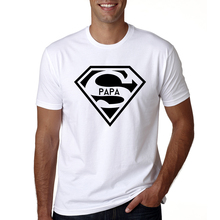 cc62e4c26 2018 Super Papa T-shirt Fathers Day Gift New Dads Funny T Shirt Best Dad