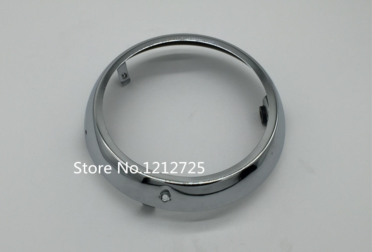 Suitable For Wangjiang Suzuki GN250 Motorcycle Headlight Circle GN 250 Headlight Accessories Headlight Frame