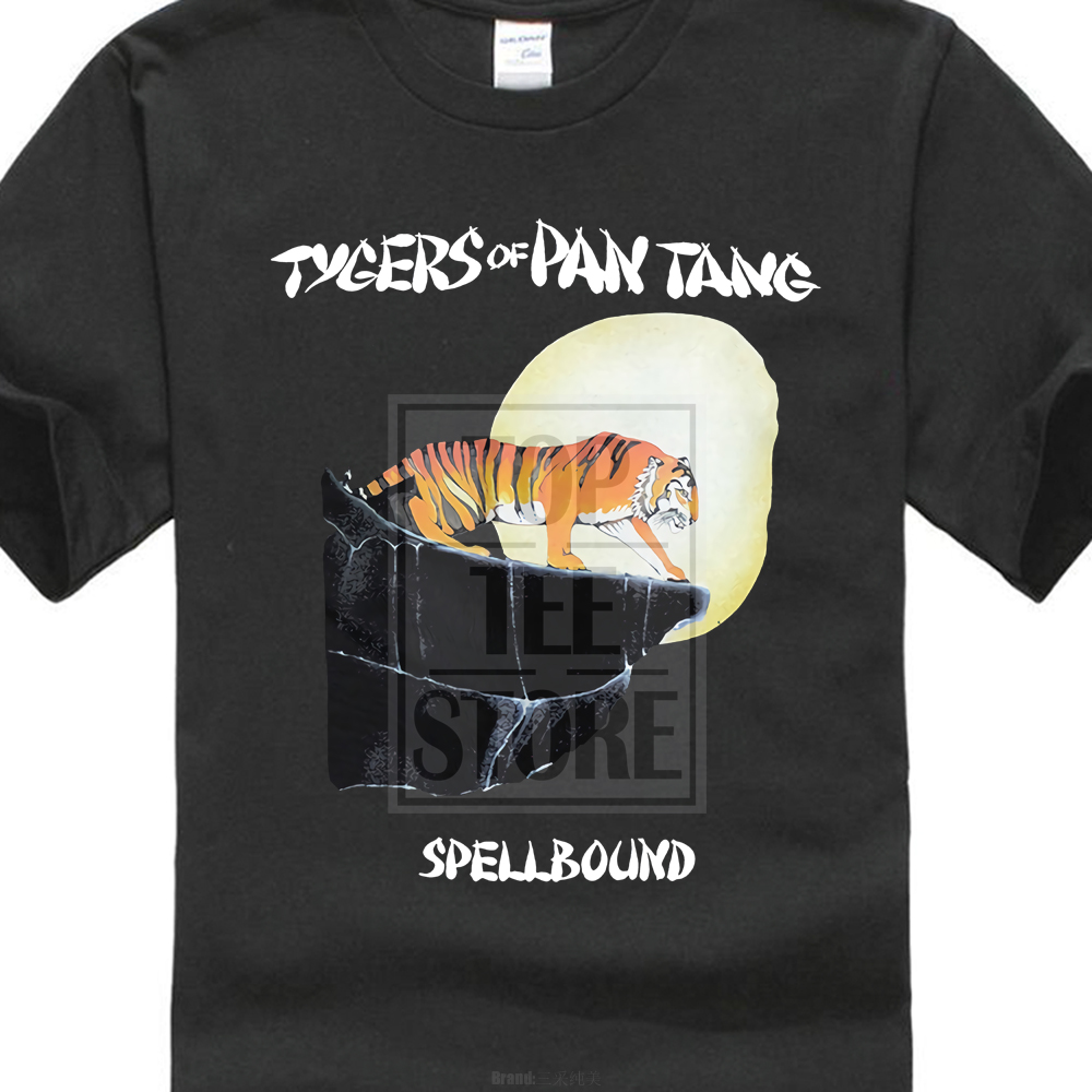 Tygers Of Pan Tang Spellbound 1981 Album Cover T Shirt