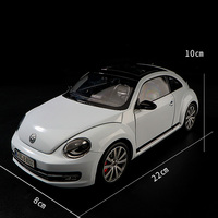 diecast wheel 1:18 Volkswagen Beetle Die Casting Model Automobile Toys New Inner Box Gift/Collection/Children/Decoration