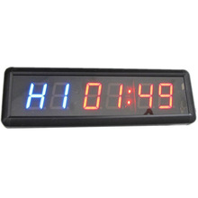 1 8 inch Remote Led Display Countdown Clock Count Up Countdown Timer For researched and Swim