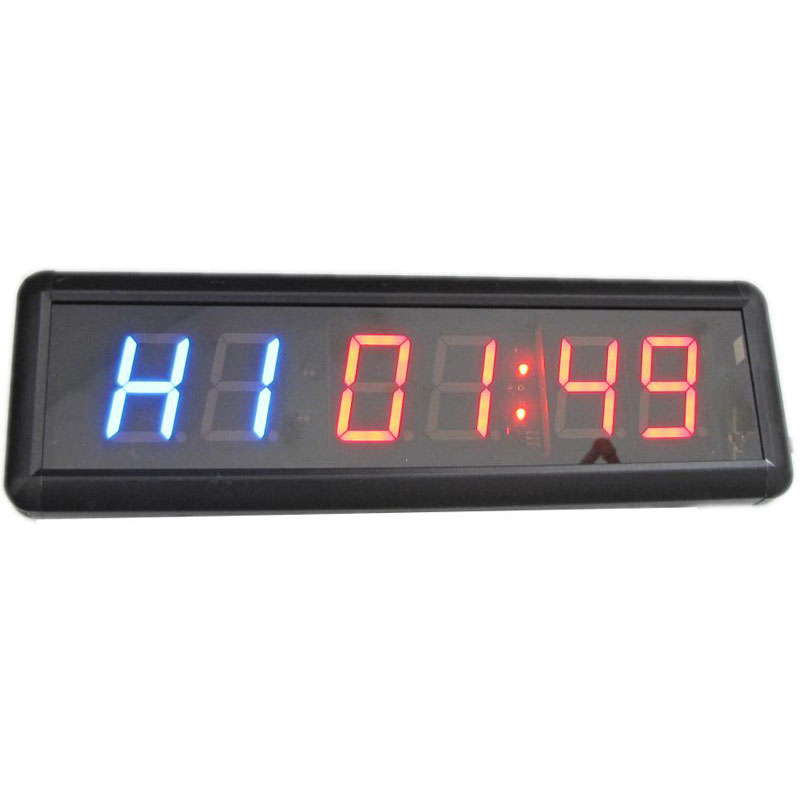 1.8 pollice A Distanza Display A Led Conto Alla Rovescia Orologio Count Up Countdown Timer Per ricercato e Nuotare Uso Cronometro Palestra/Boxe palestra