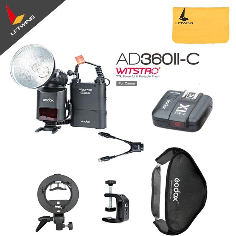 Nieuwste Godox AD-360 MARK II AD360II-C 360 W Flitslicht Speedlite + - Camera en foto - Foto 1