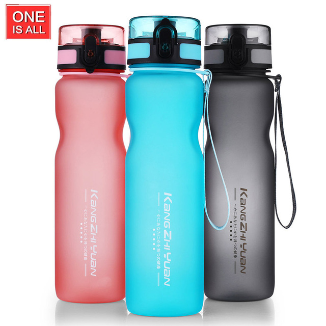 428d79de0115 US $13.38 |ONE IS ALL New Material Tritan Plastic Water Bottle BPA Free  Sport Water Tumbler With PP Tea Infuser Direct Drinking Climbing -in Water  ...