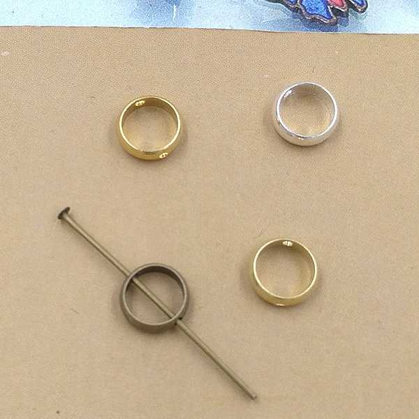 4 Colors Fit 6mm 8mm 10mm Beads 3mm Width 8mm 10mm 12mm Charms Connector For Earring Bracelet Necklace
