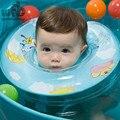 Retail Nuevos Niños Del Bebé Infant doble bolsa de aire de seguridad barandilla Ajustable Natación del Flotador Del Cuello Del Tubo de la Ayuda de Seguridad del Anillo 2014
