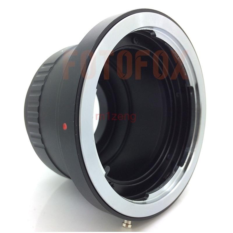 Anillo Adapter para montar Optica Pentax 645/sobre barriles Fuji GFX Adaptador.